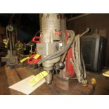 (1) Milwaukee Cat #4292-1 Mag Drill 375/750 R.P.M.