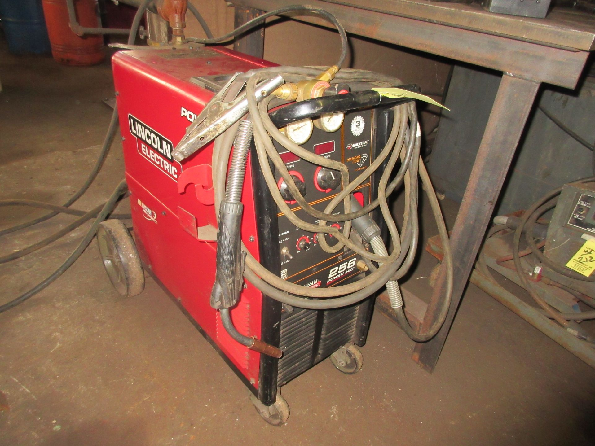 (1) Lincoln Power Mid 256 Welder, S/N M3130607185