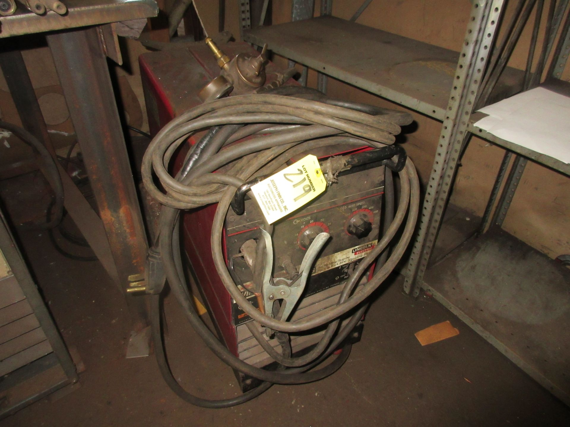 (1) Lincoln Wire-Matic 255S Welder - Image 3 of 3
