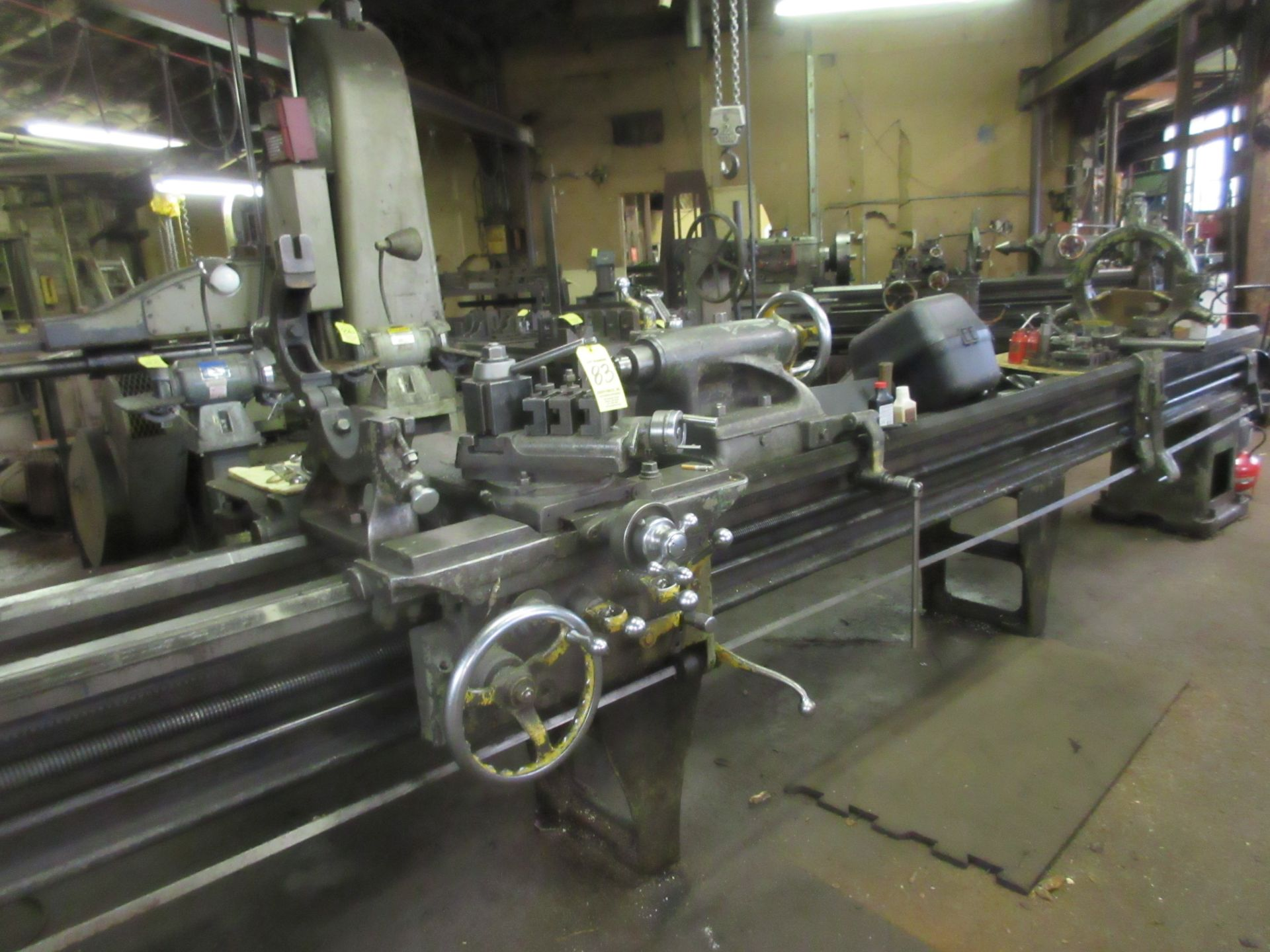 """(1) Monarch 18 CBB Toolroom Lathe S/N 18862, 168"""" Between Centers 4 Jaw Chuck, With Taper Attachment - Image 5 of 7"""
