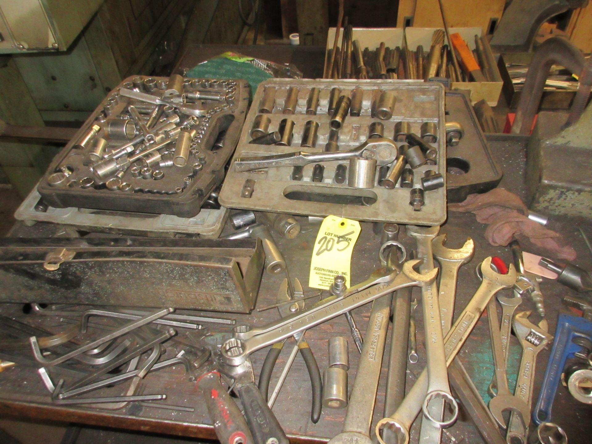LOT Asst. Wrenches, Sockets, Et