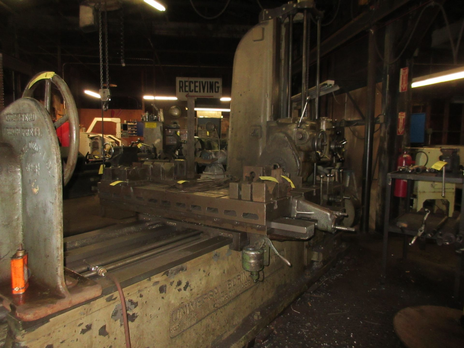 """(1) Universal Boring Machine Model 25 3"""" Spindle, 32"""" x 60"""" Table - Image 3 of 4"""