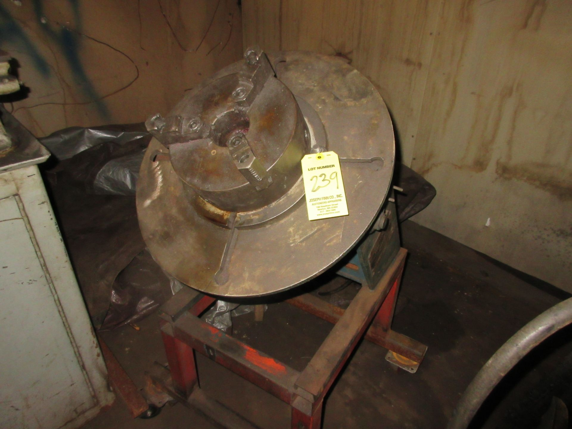 (1) Ransome M/N B-3A S/N 0924109 Capacity 300 lb. Welding Positioner