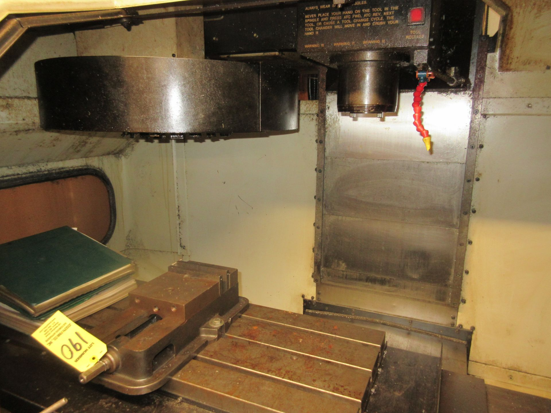 (1) 1993 Haas VF-2 CNC Vertical Milling Machine S/N 2309 - Image 3 of 7