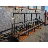 (1) Port. Stock Cart