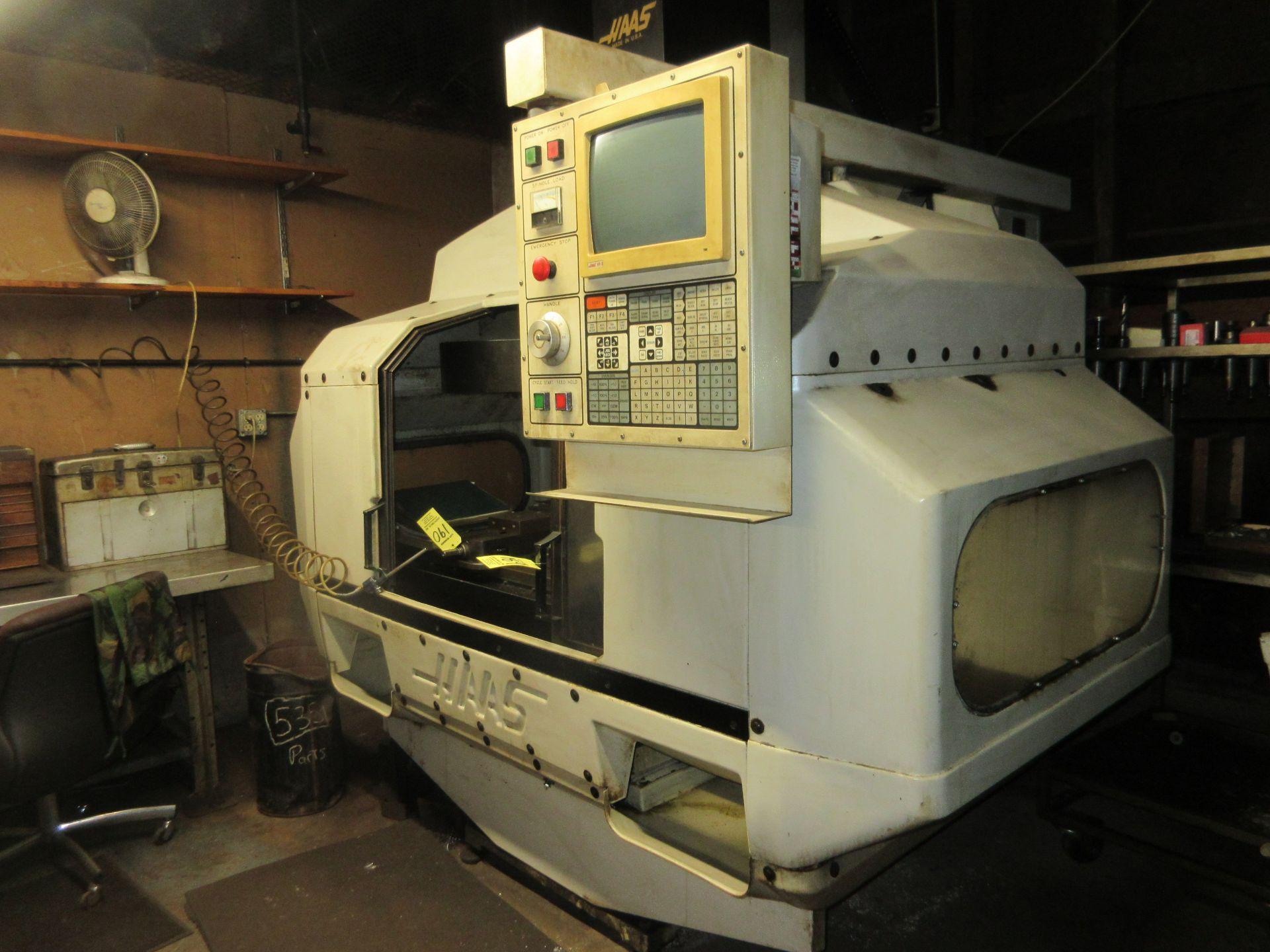 (1) 1993 Haas VF-2 CNC Vertical Milling Machine S/N 2309 - Image 6 of 7