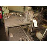 """(1) 6"""" Shop Vise w/ Metal Bench"""