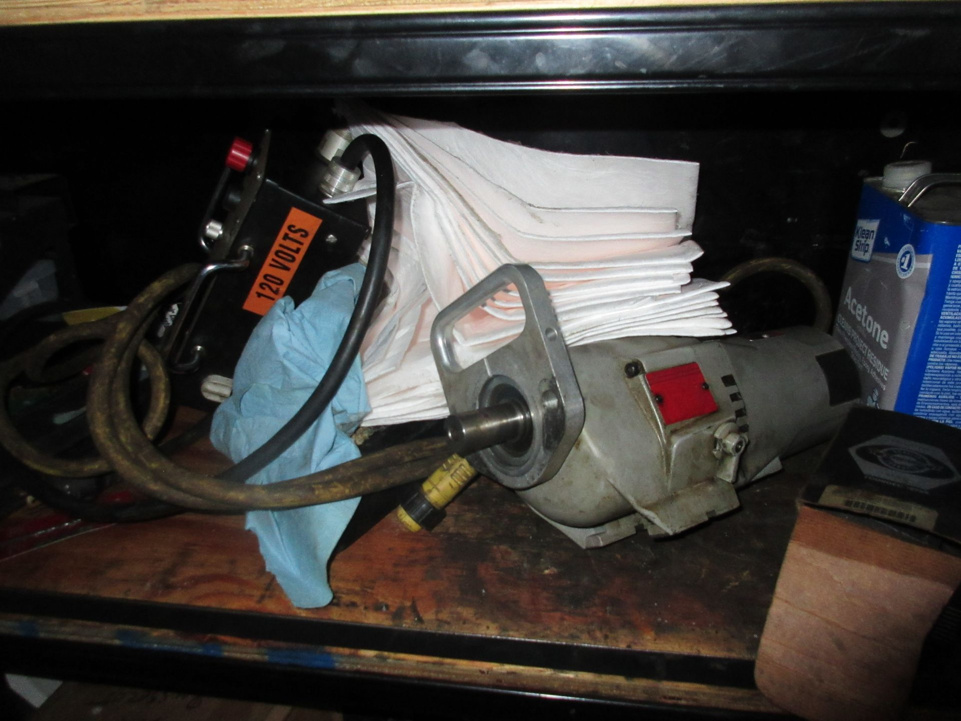 Hand & Electric Tools in Cabinet - Image 5 of 7