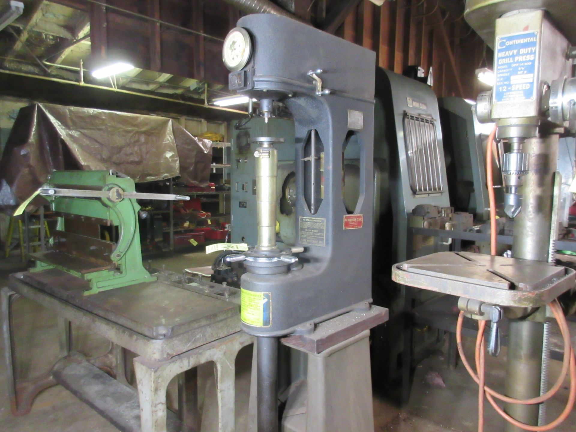(1) Clark C2A Hardness Tester w/ Stand