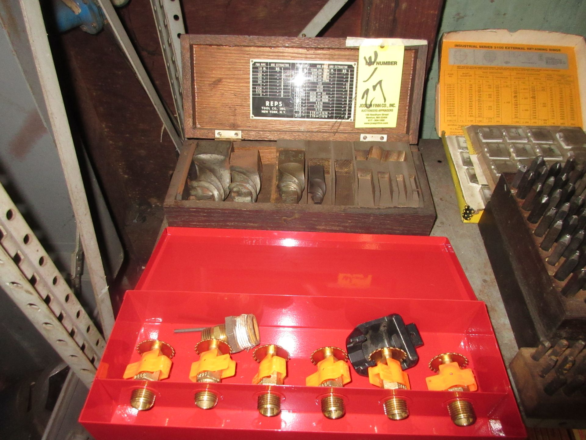 LOT Nozzle Heads and Pipe Tooling