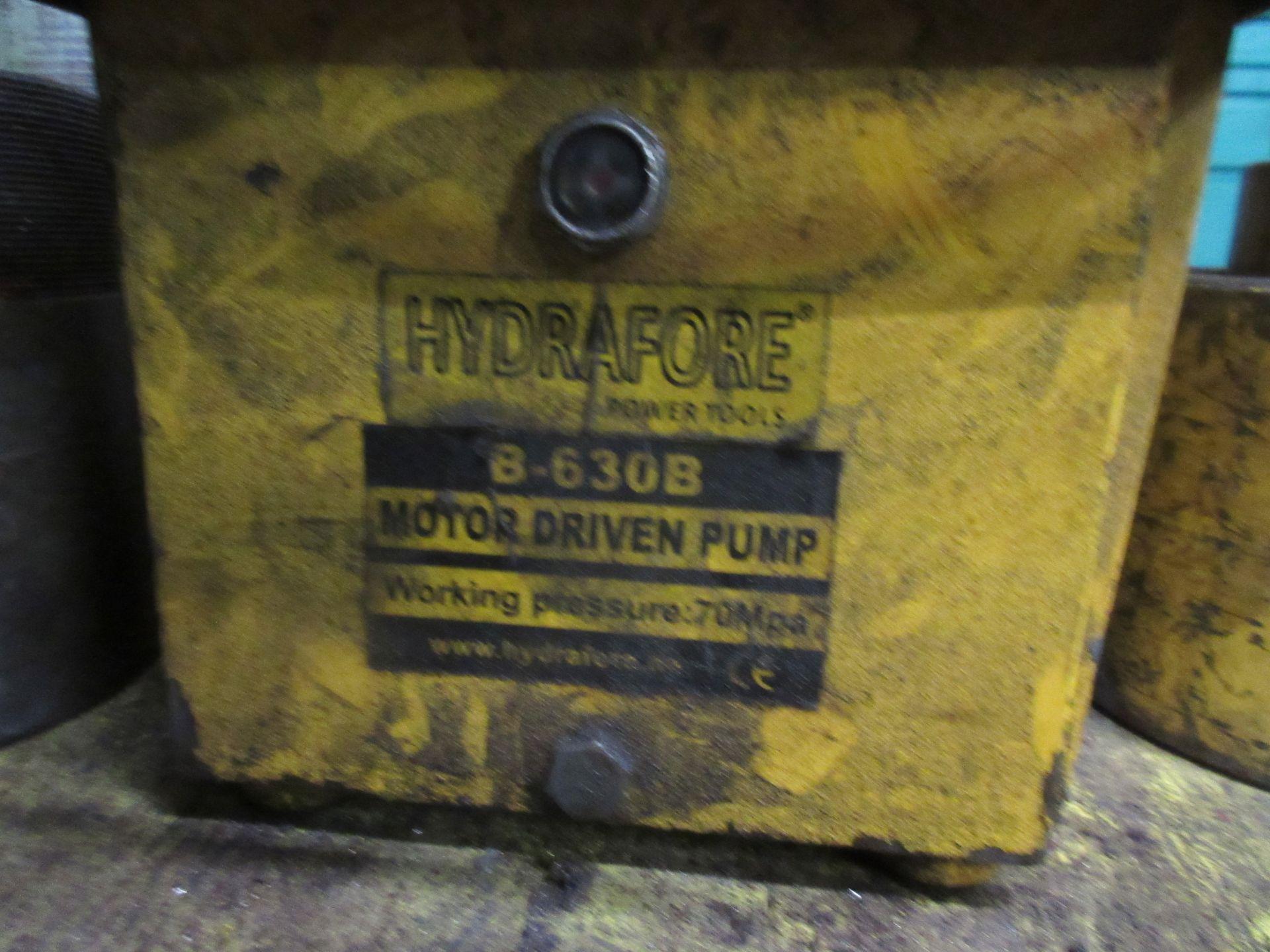 (1) Hydrafore B-630B Hyd. Unit - Image 2 of 2
