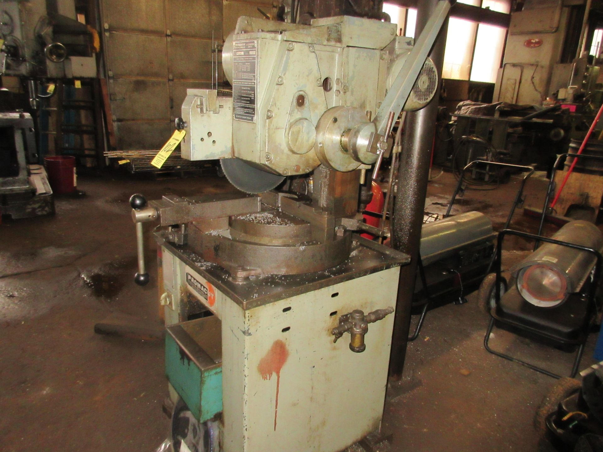 (1) Trennjaeger Promacut VC260 Cut Off Saw S/N GD1003 - Image 3 of 3