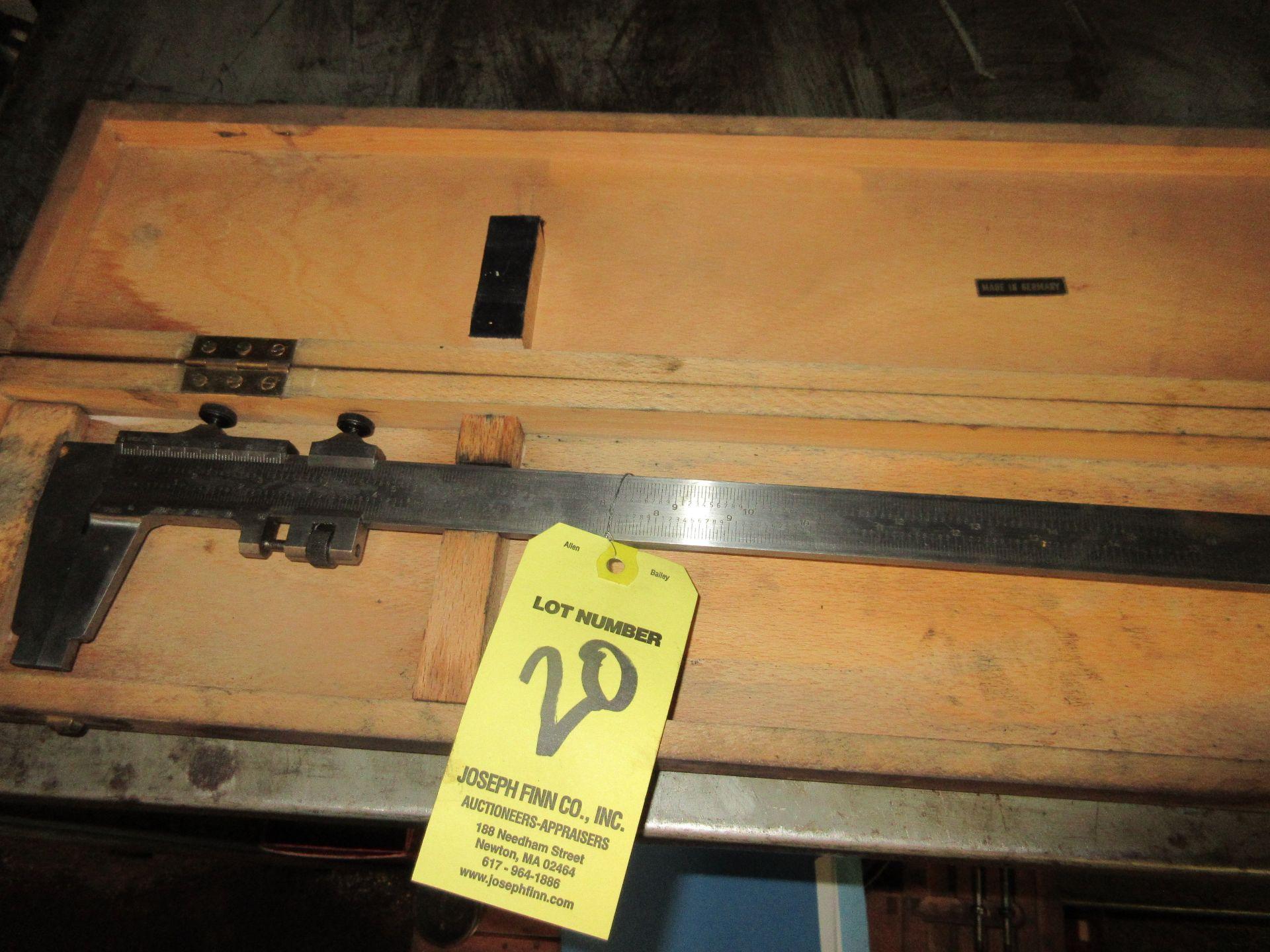 """(1) 27"""" Caliper in Case - Image 4 of 4"""