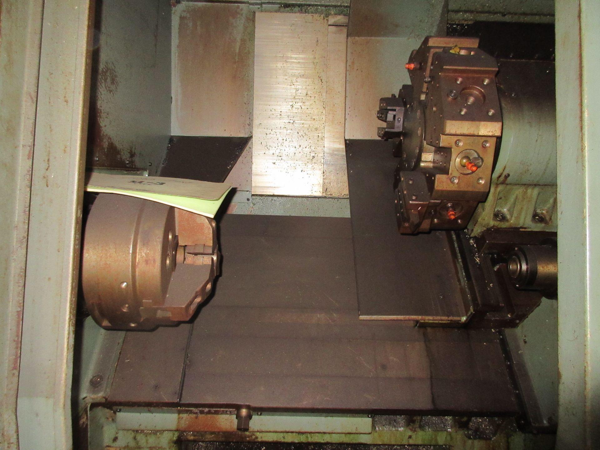 (1) Mori Seiki SL-3H S/N 3360 W/ Chip Conveyor - Image 6 of 8