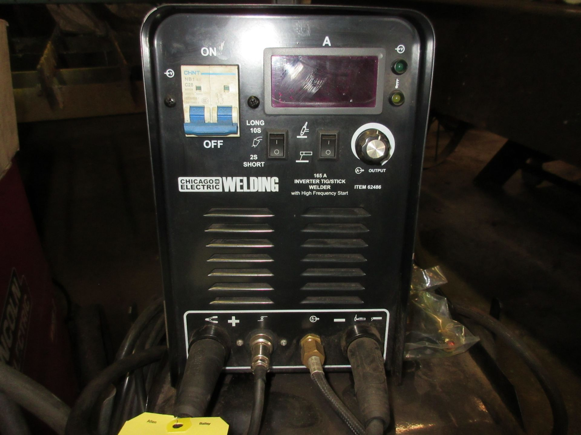 (1) IGBT Arc 160D Invertor Arc Welder w/ Chicago Electric Invertor Tig/Stick Welder, Foot Control - Image 4 of 5