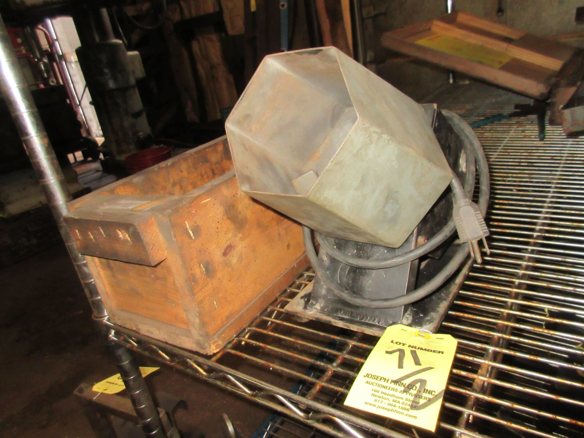 LOT Central Machinery Bench Top Vibratory Tumbler w/ Media, & Bench Top Barrel Tumbler