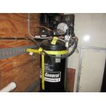 (1) US General 5 HP Vertical Tank Mounted Air Compressor This lot is being sold subject to the