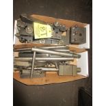 LOT (8) Tool Holders, Cutters in (2) Boxes