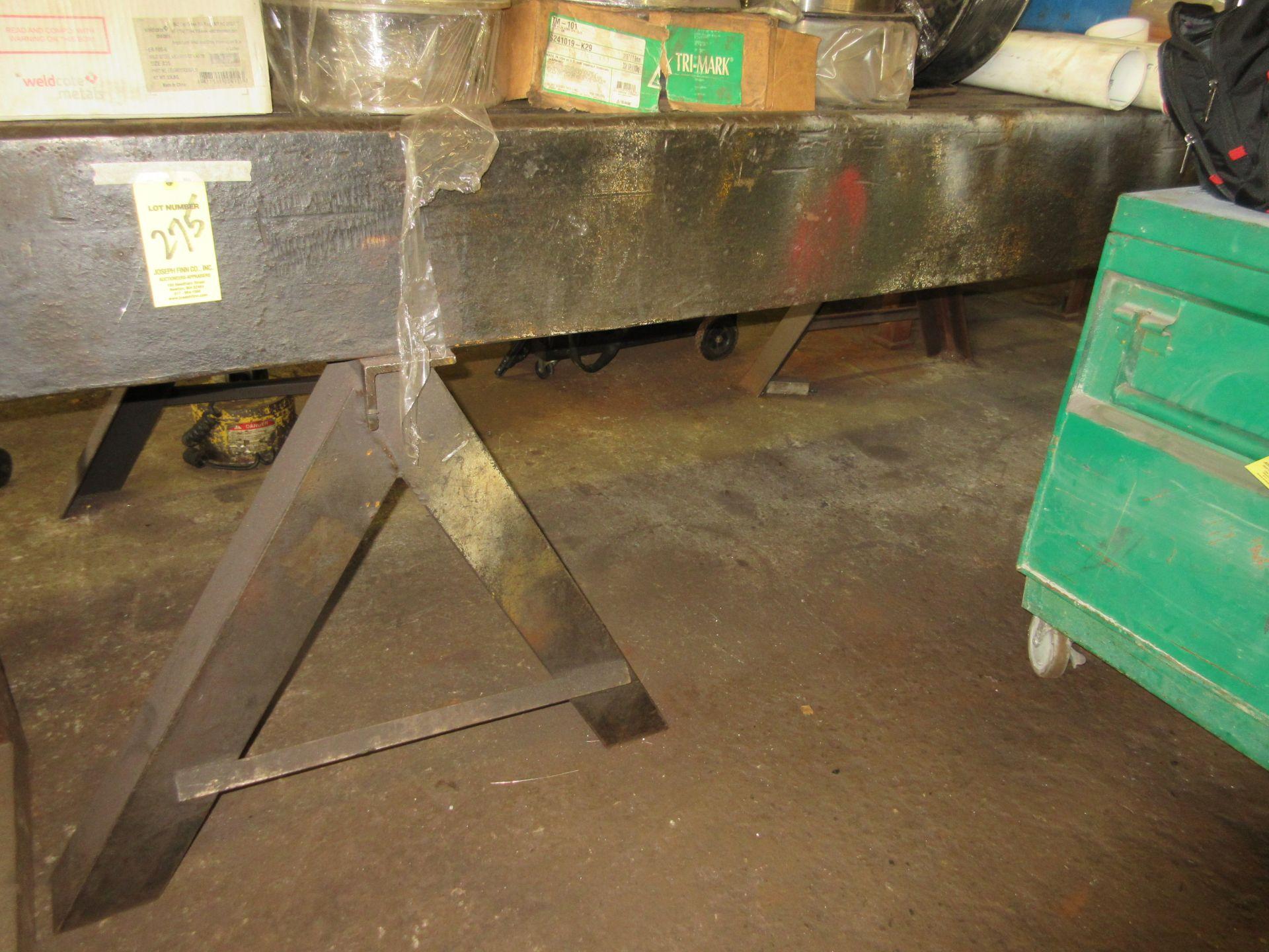 """(1) 4'x14'x10"""" Steel Table"""