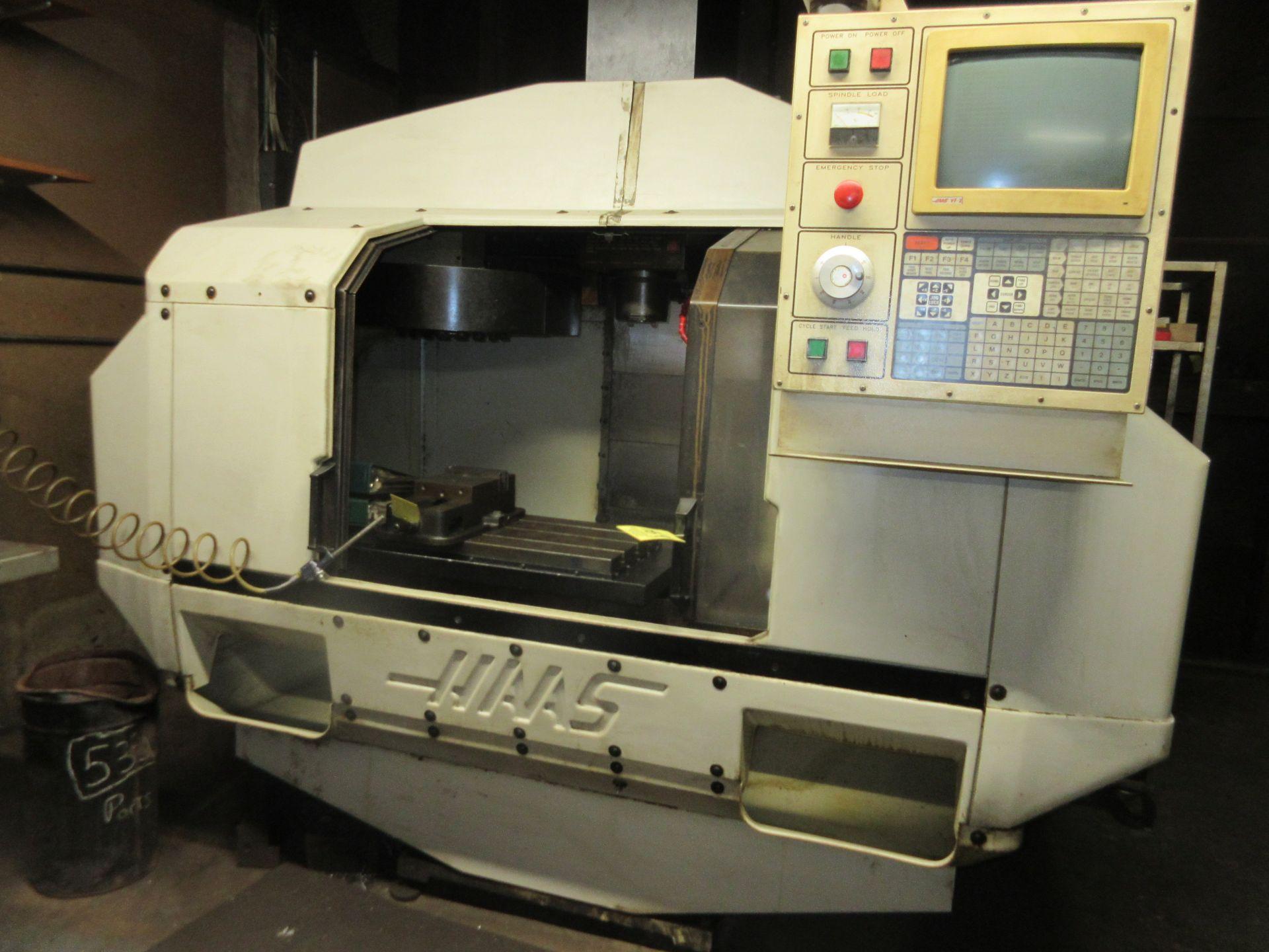 (1) 1993 Haas VF-2 CNC Vertical Milling Machine S/N 2309