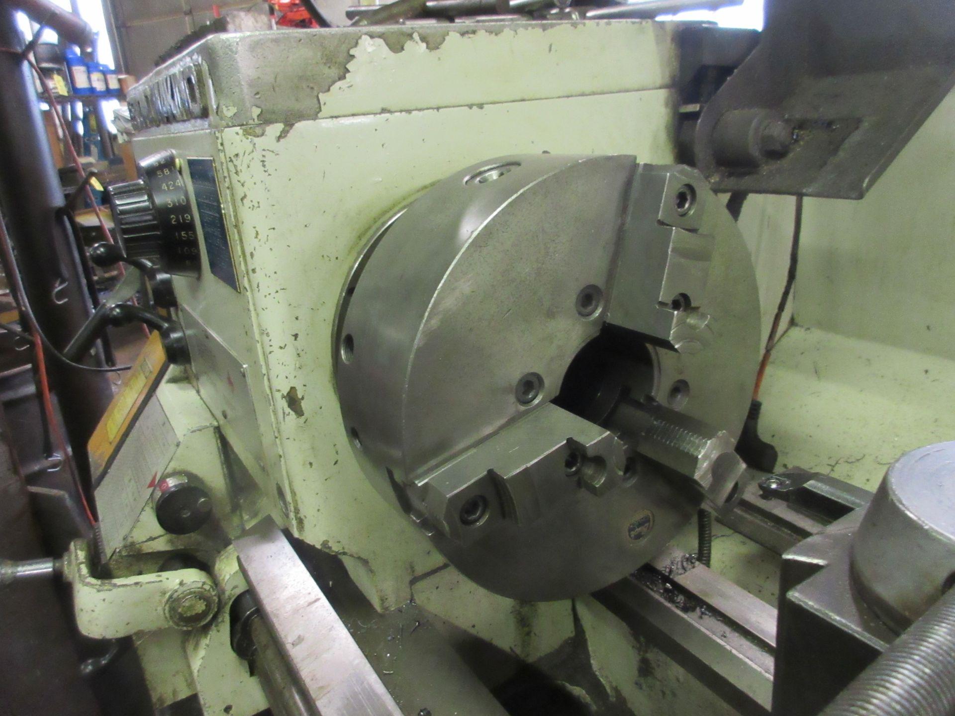 "(1) Leblond Makino Regal Servo Shift Toolroom Lathe S/N 15E-325 72"" Long W/3"" Spindle Hole (1) - Image 4 of 6"