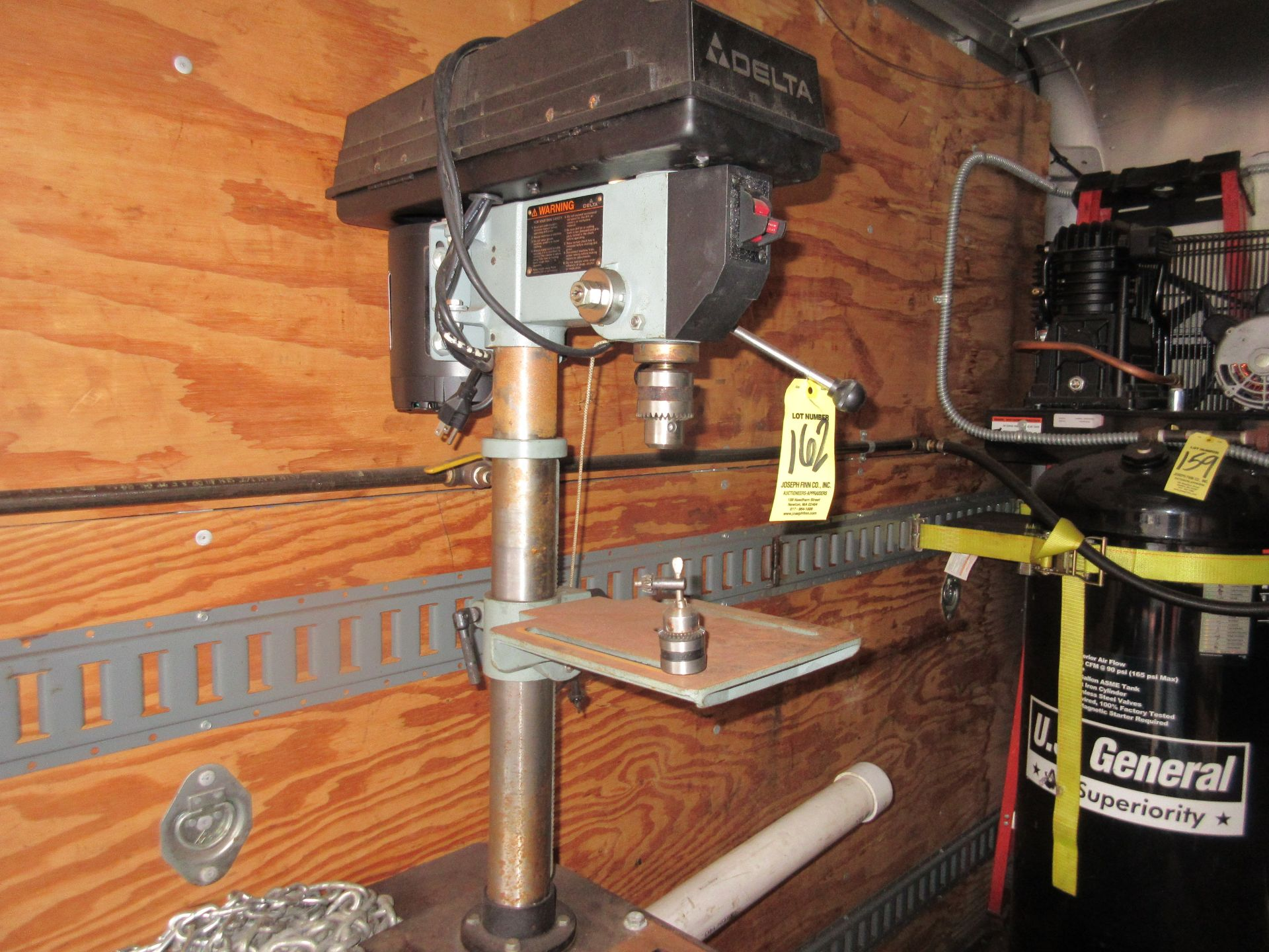 """Delta Floor Drill, 6"""" Throat This lot is being sold subject to the bulk bid lot number 131. - Image 2 of 2"""