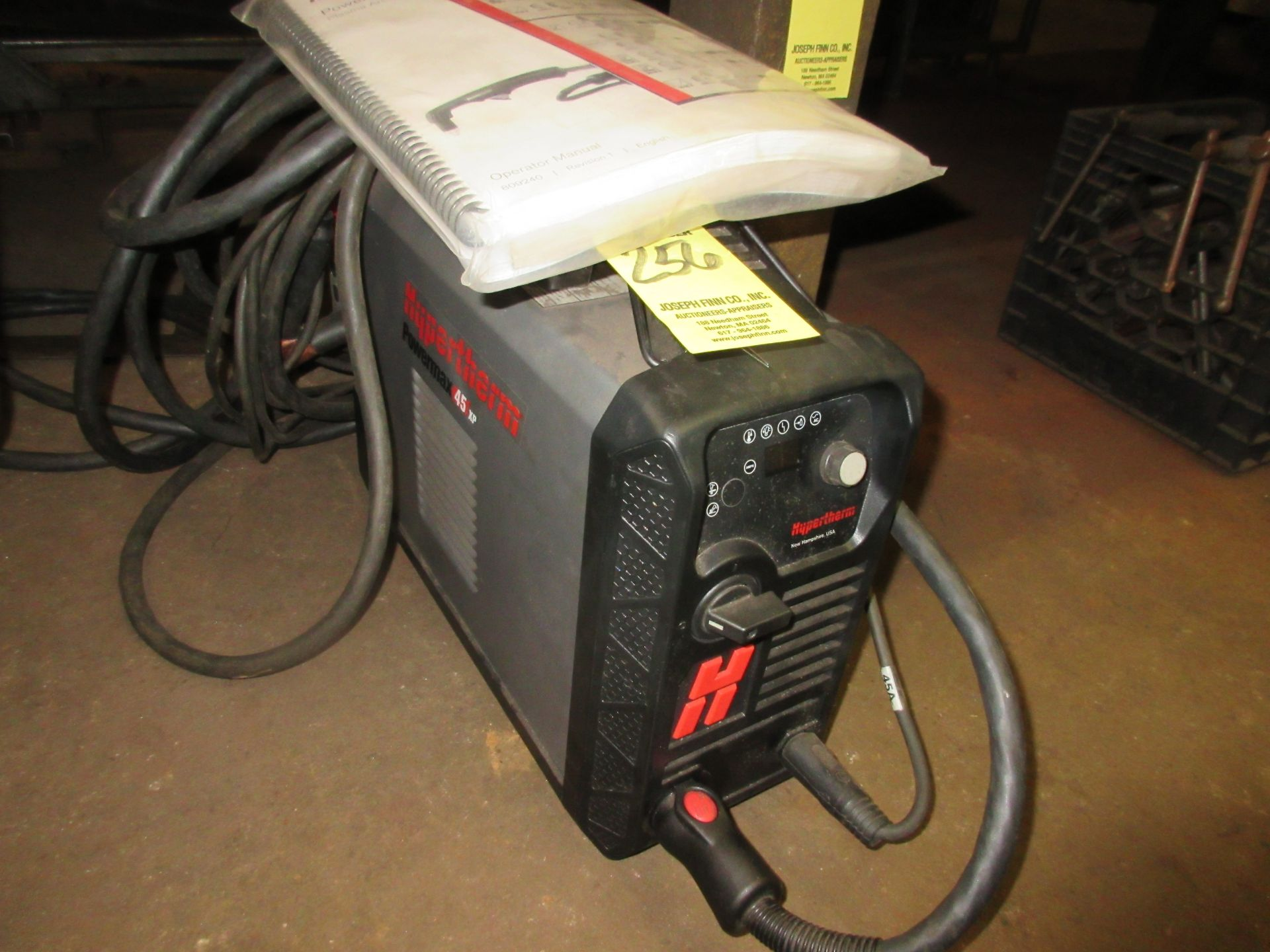 (1) Hypertherm Powermax 45XP Plasma Cutter