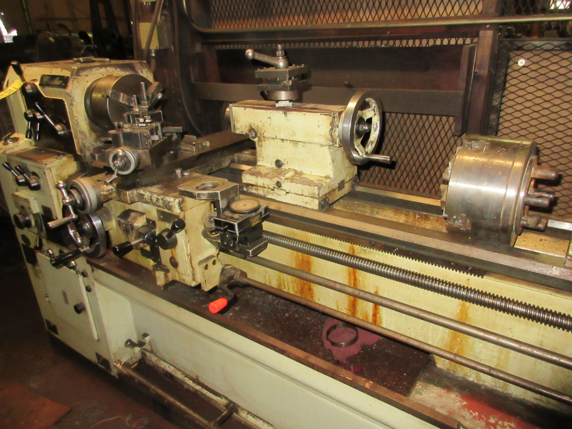 """(1) Cadillac 1040 Toolroom Lathe (1) 8"""" 3 Jaw & (1) 8"""" 4 Jaw Universal Independent Chucks & Steady - Image 2 of 5"""