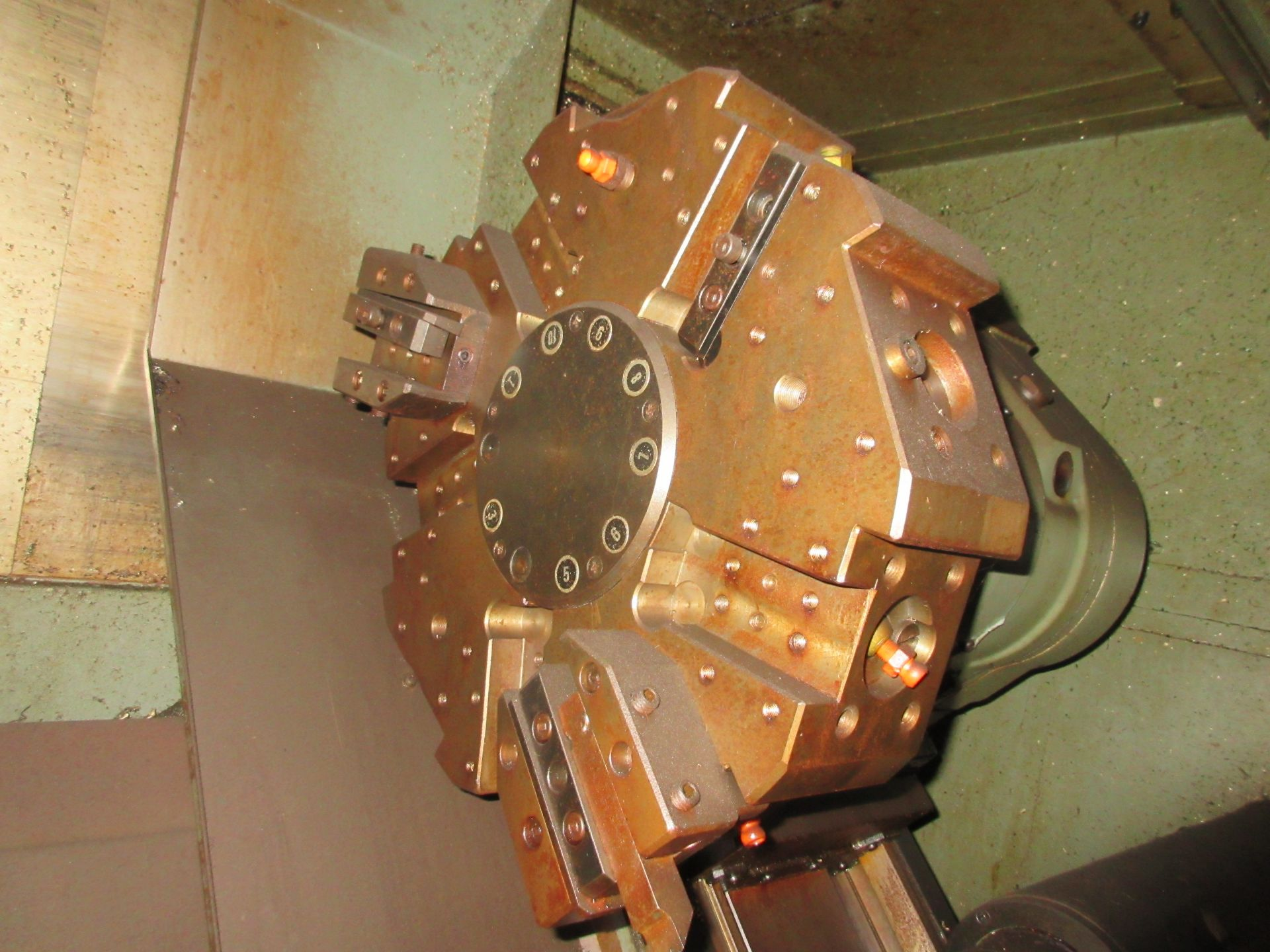 (1) Mori Seiki SL-3H S/N 3360 W/ Chip Conveyor - Image 5 of 8