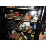 Hand & Electric Tools in Cabinet
