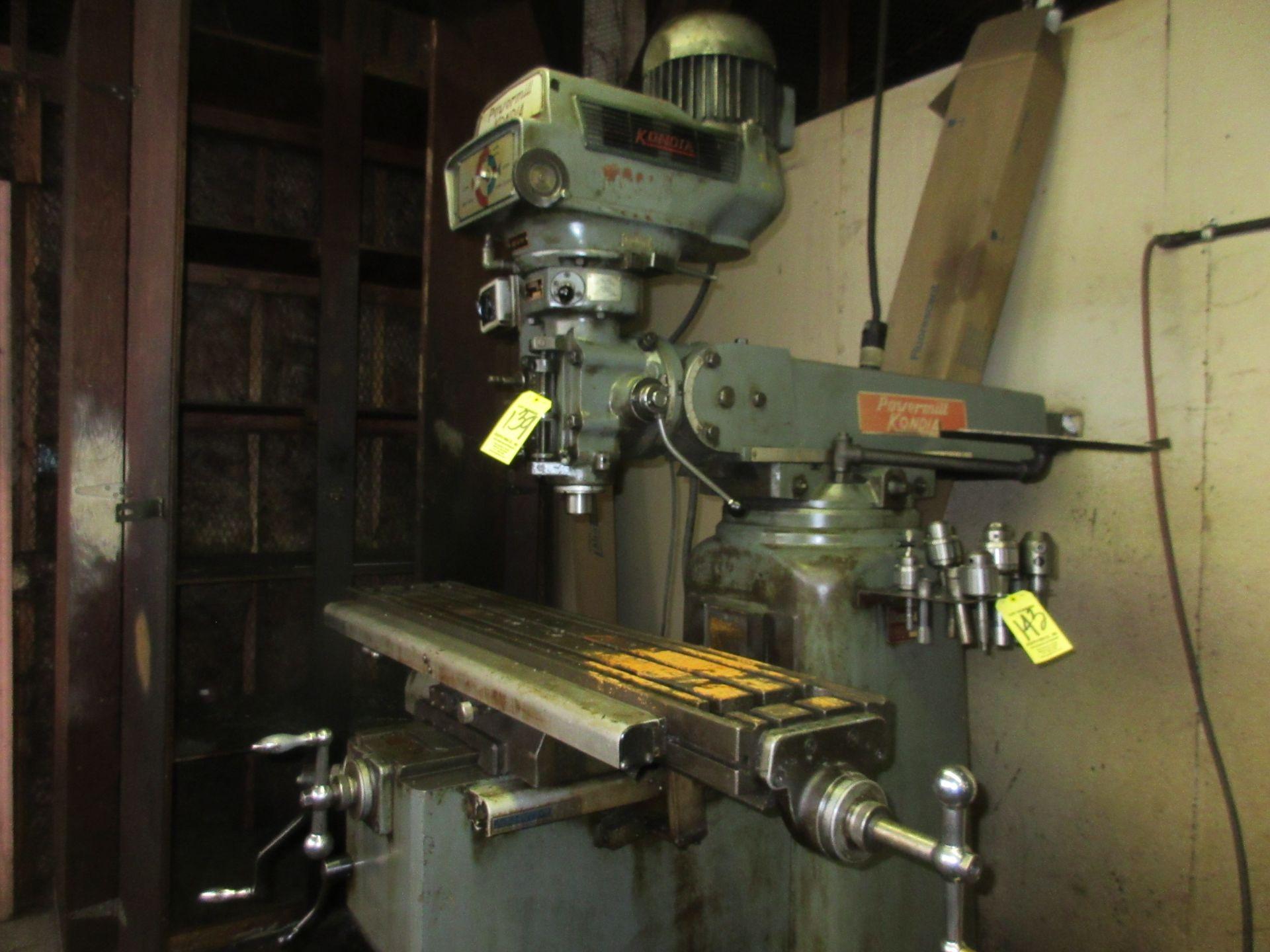 (1) Kondia Powermill FV-1 Vertical Miller S/N M358 - Image 2 of 5