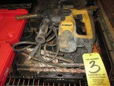 (1) DEWALT D25303 Rotary Hammer