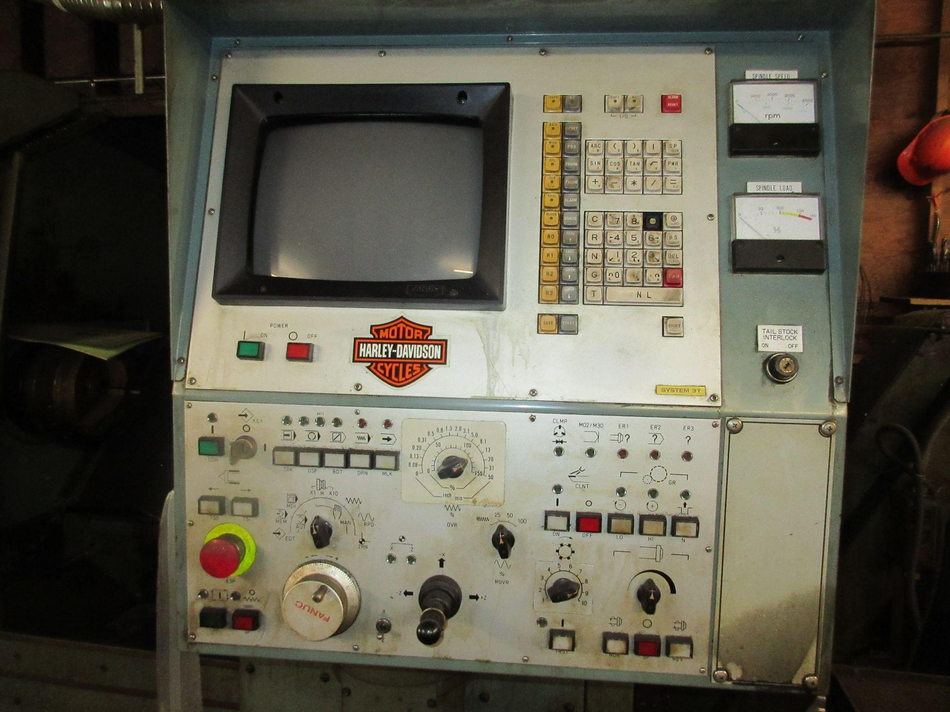 (1) Mori Seiki SL-3H S/N 3360 W/ Chip Conveyor - Image 2 of 8