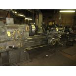"""(1) Monarch 18 CBB Toolroom Lathe S/N 18862, 168"""" Between Centers 4 Jaw Chuck, With Taper Attachment"""