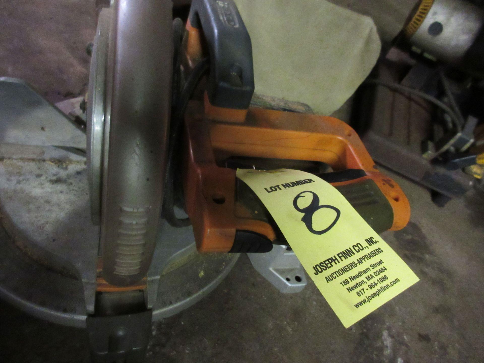 """(1) Ridgid 10"""" Radial Arm Saw"""