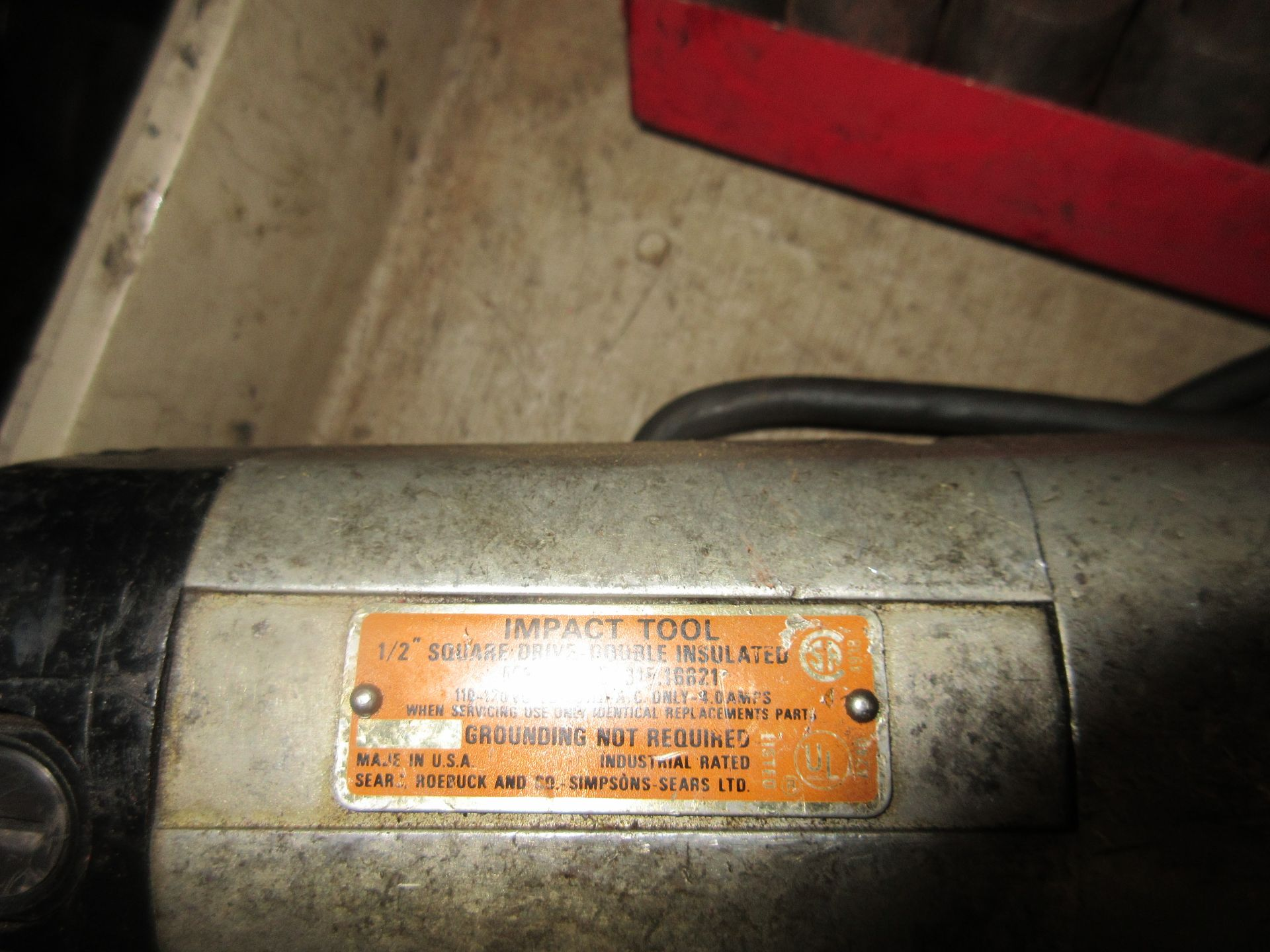 """(1) Craftsman Commercial .5"""" Impact Tool - Image 2 of 2"""