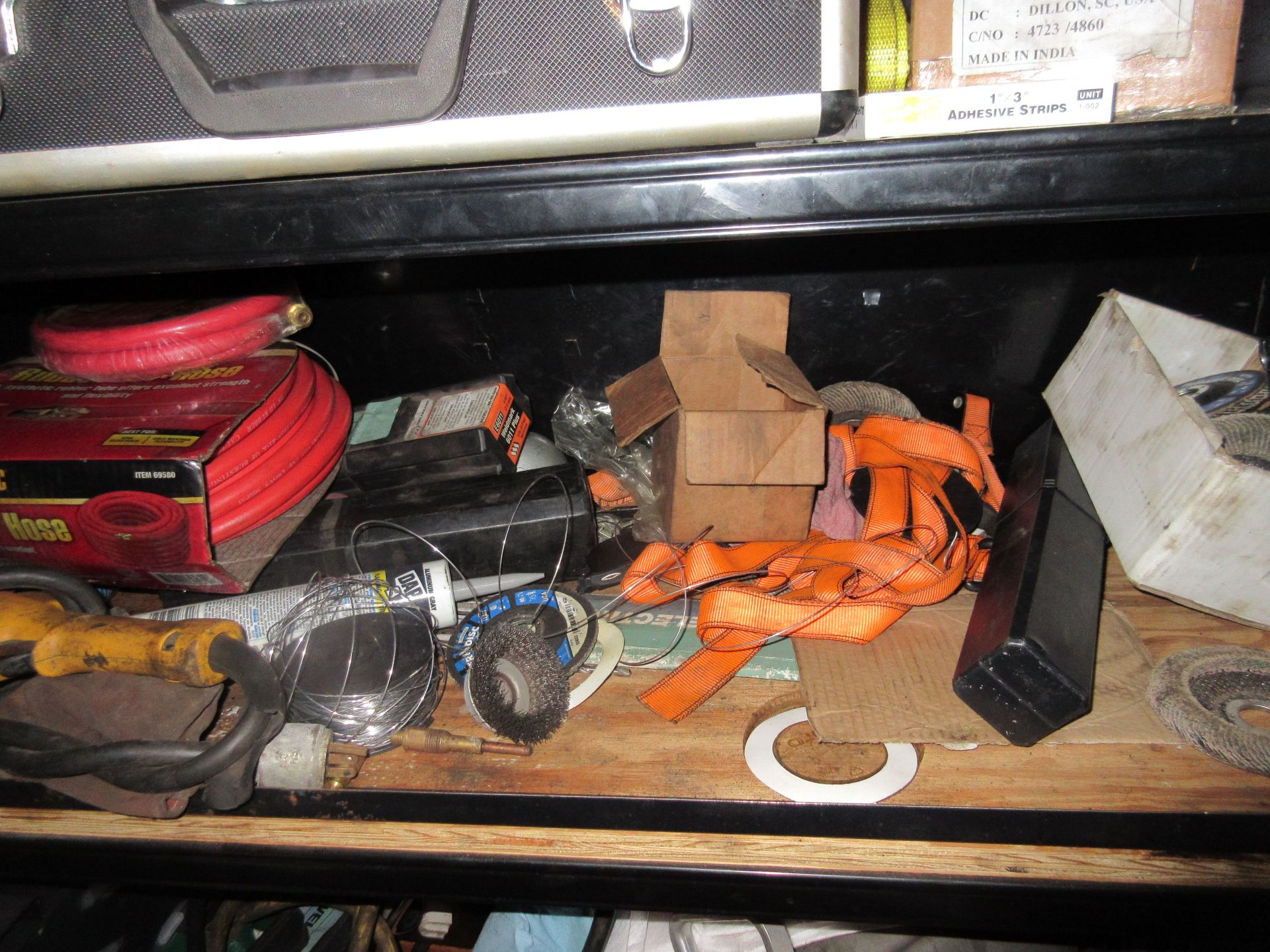 Hand & Electric Tools in Cabinet - Image 4 of 7