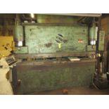 """MTI Hydraulic Press Brake 130 Ton x 8', Extra Dies to 4"""""""
