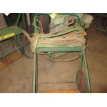 (1) Oxy-Acet. Cart w/ Hose, Gage, Torch