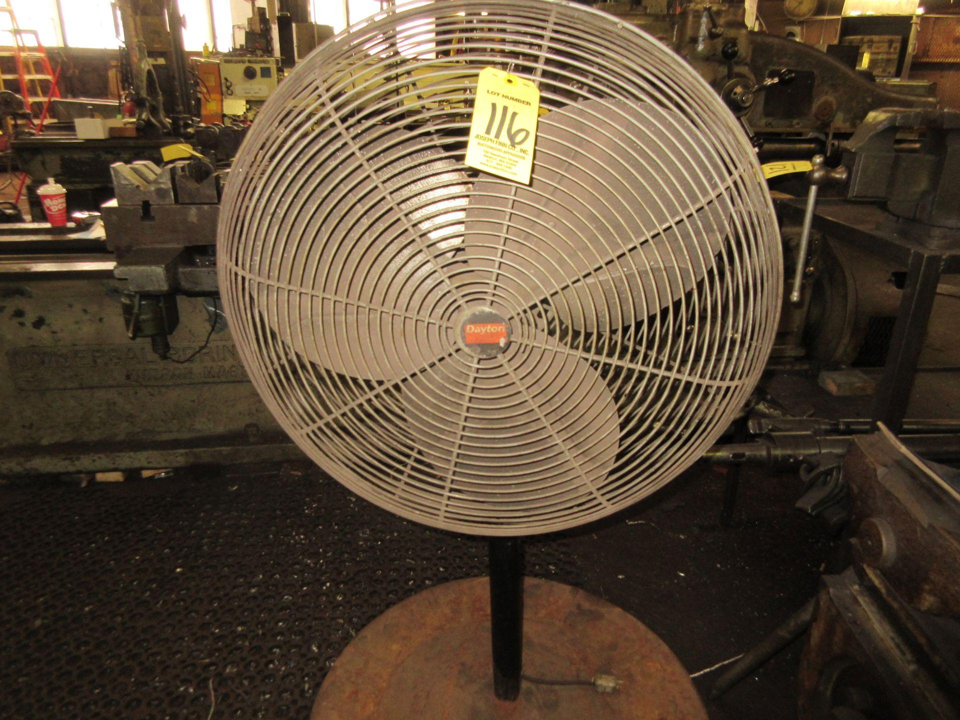 (1) Dalton Pedestal Shop Fan