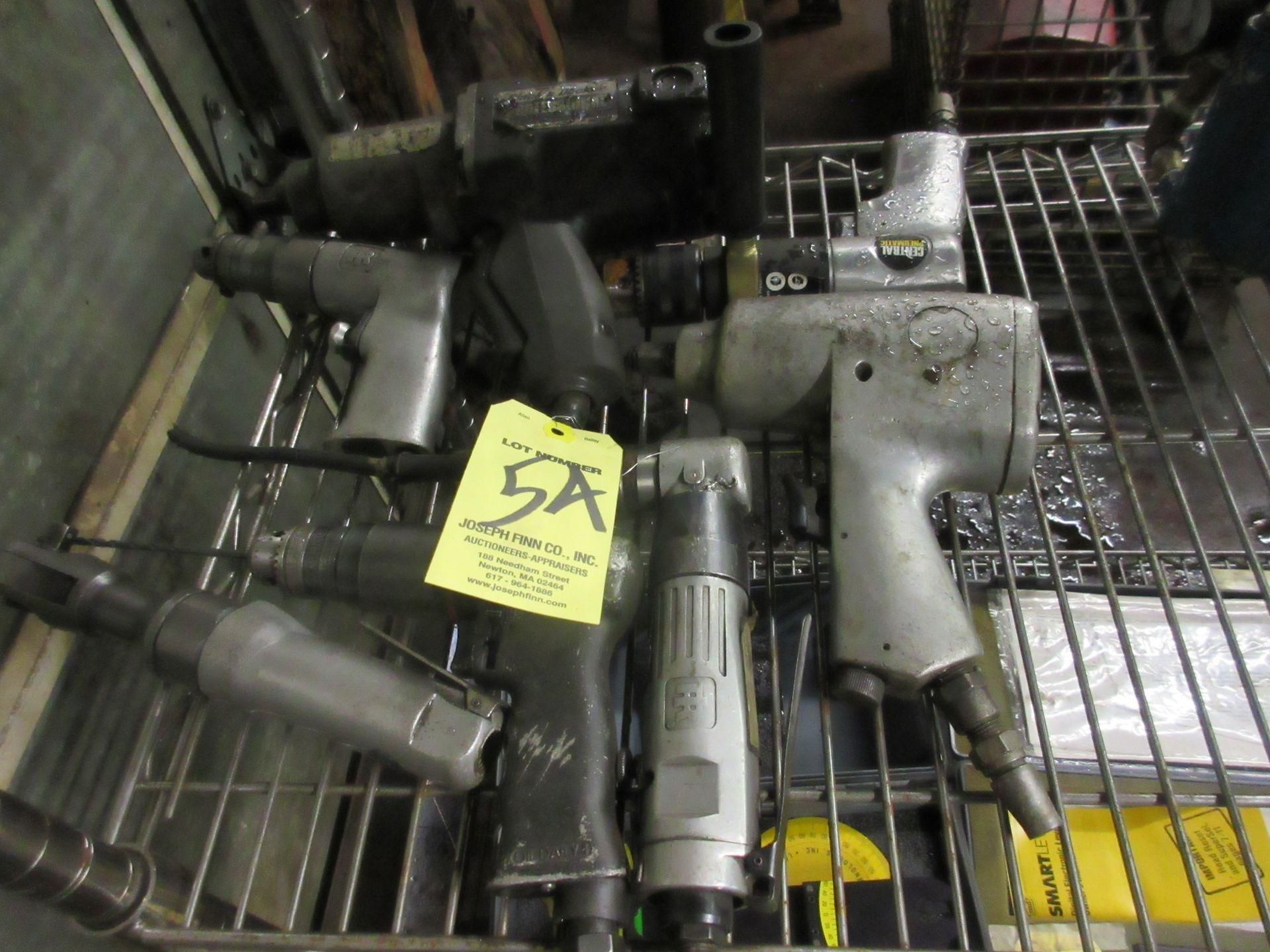 LOT (7) Asst. Pneumatic Drills & Wrenches