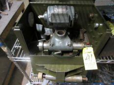 (1) Dumore .5 HP Tool Post Grinder