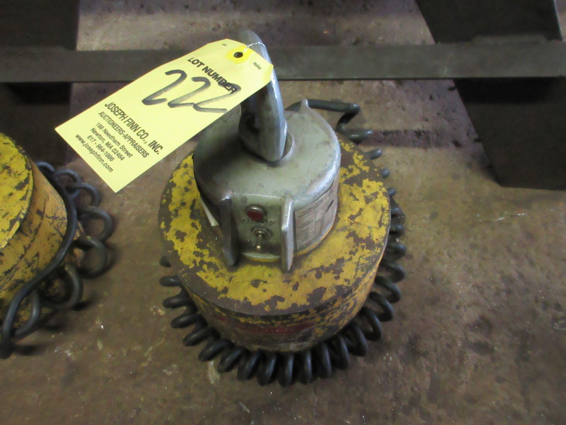 (1) Model CER-9 Lifting Magnet, 24,000 Lbs. Cap
