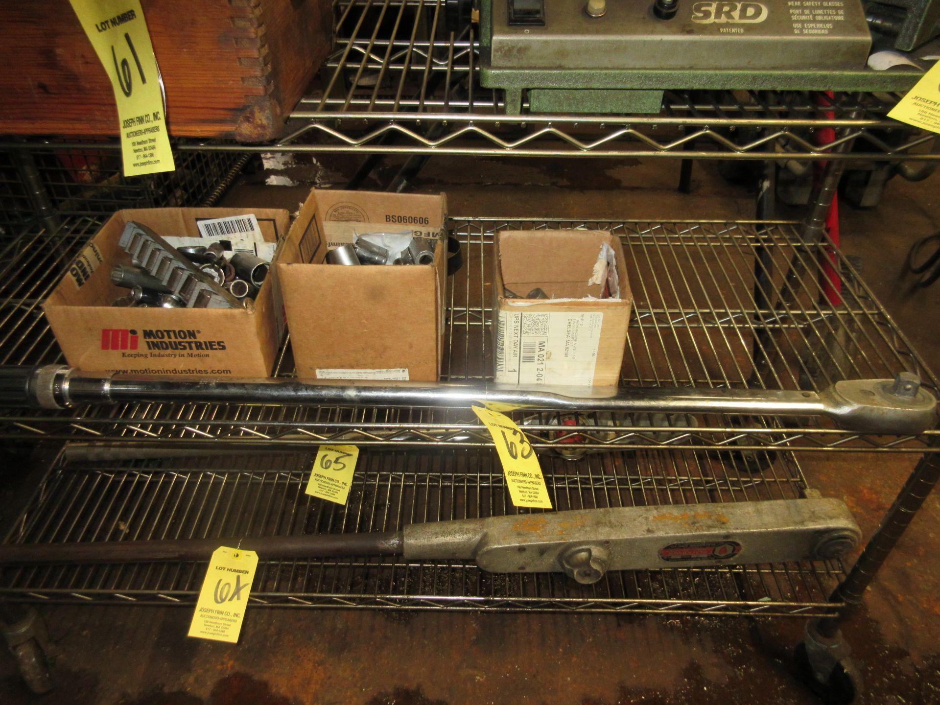 (1) H.D. Socket Wrench w/ Sockets