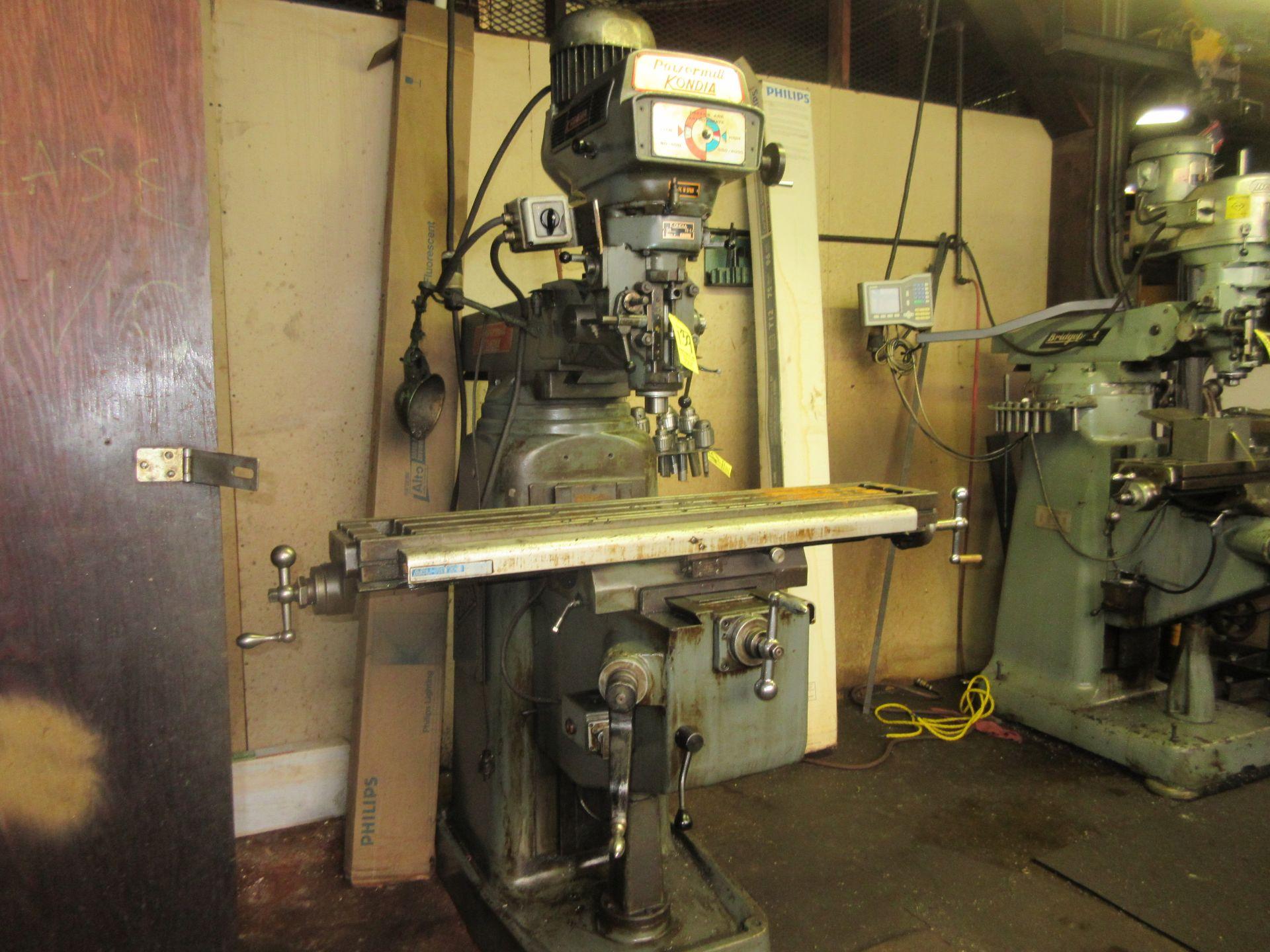 (1) Kondia Powermill FV-1 Vertical Miller S/N M358 - Image 5 of 5