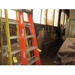 (1) Werner 6' Fiberglass Step Ladder