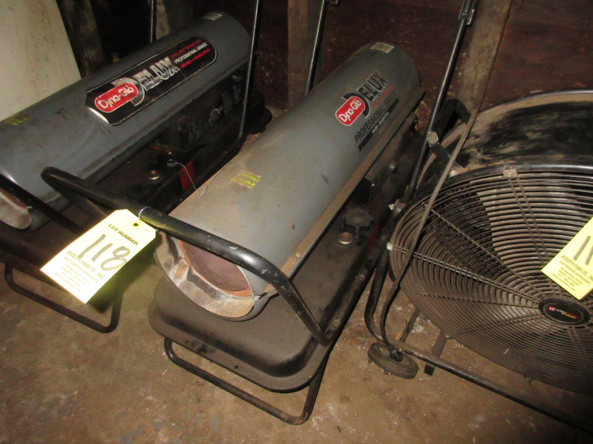 (1) Dyna Glo 180,000 BTU Port. Heater