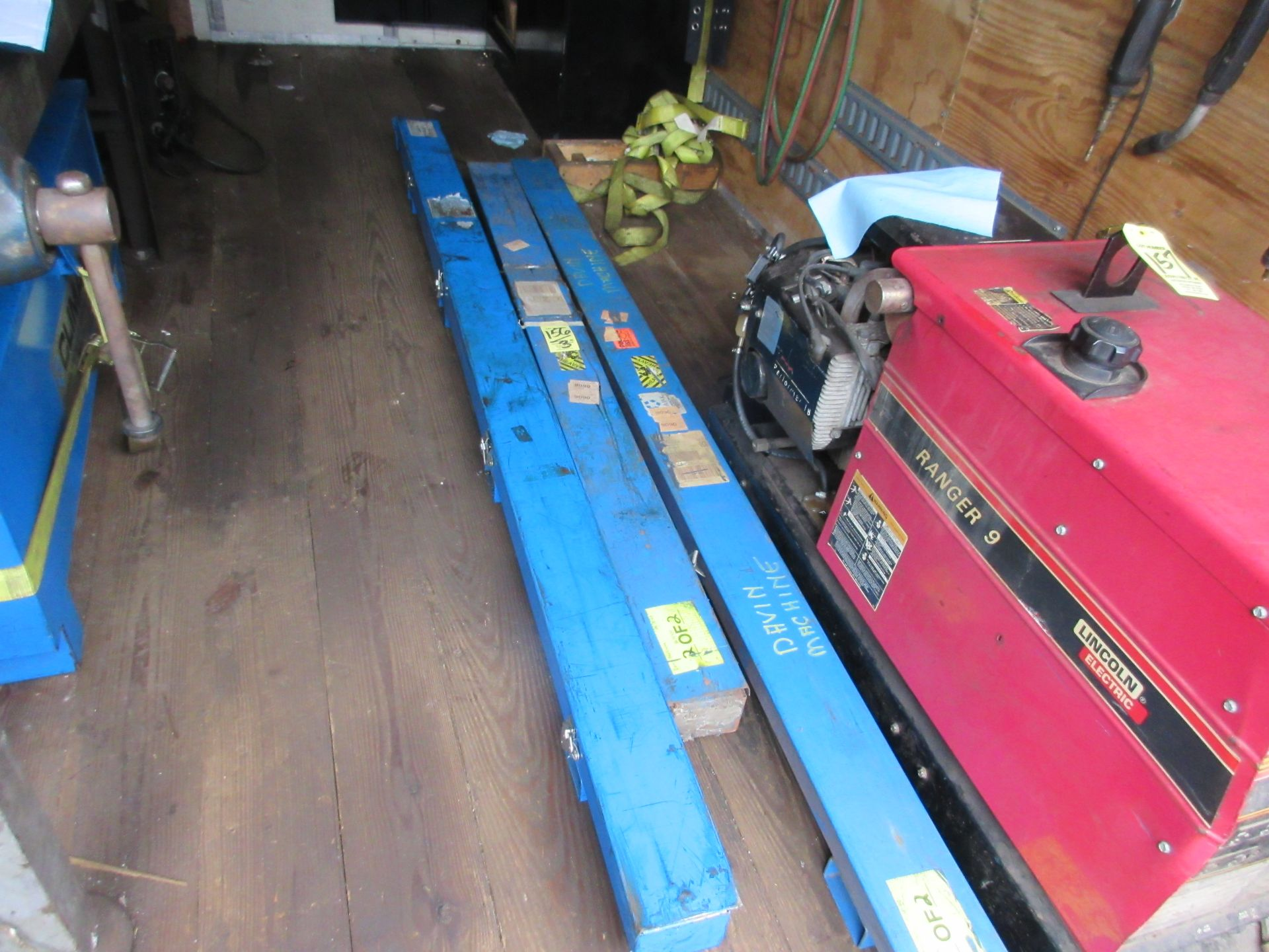 """LOT (2) 2-1/4"""" x 8' & (1) 2-1/4"""" x 6' Boring Bar This lot is being sold subject to the bulk bid"""
