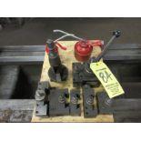 (1) Suzuki QC300 Tool Post w/ (6) Holders