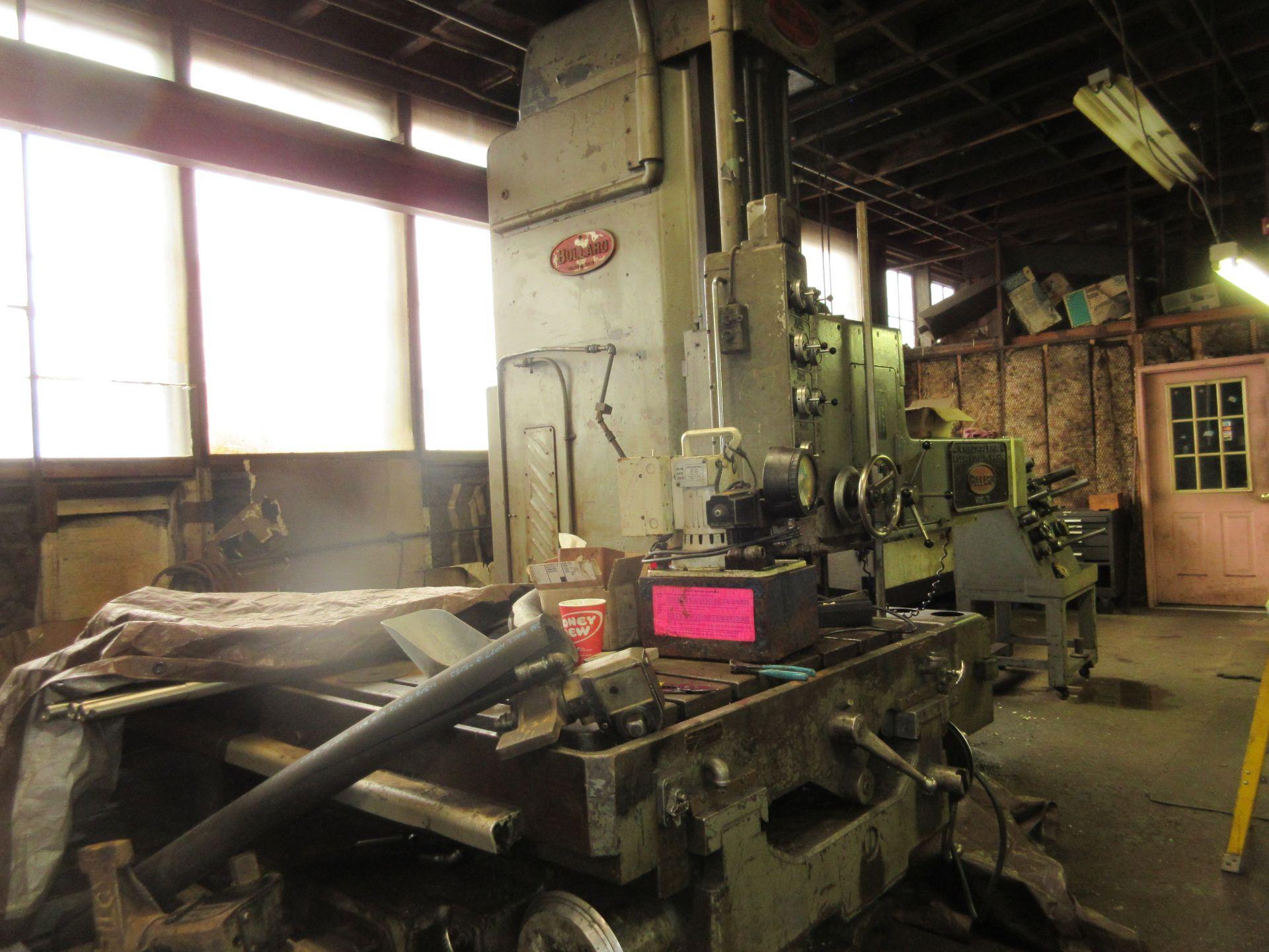 """(1) Bullard Model 75 4"""" Horizontal Boring, Milling & Drilling Machine S/N 30512 - Image 7 of 7"""